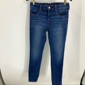 American eagle super stretch X jegging 10